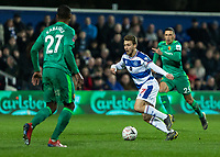Football - 2018 / 2019 Emirates FA Cup - Fifth Round: Queens Park Rangers vs. Watford<br /> <br /> Luke Freeman (Queens Park Rangers) breaks from the midfield at Loftus Road<br /> <br /> COLORSPORT/DANIEL BEARHAM