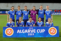 Fifa Womans World Cup Canada 2015 - Preview //<br /> Algarve Cup 2015 Tournament ( Vila Real San Antonio Sport Complex - Portugal ) - <br /> Norway vs Usa 1-2 , Team Group of Usa , from the left up :<br /> Ali Krieger ,Carli Lloyd ,Alex Morgan ,Hope Solo ,Lauren Holiday ,Becky Sauerbrunn //<br /> Lori Chalupny ,Morgan Brian ,Abby Wambach ,Christen Press ,Julie Johnston