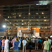 WASHINGTON, DC - August 11th, 2012 - The inaugural Trillectro Festival at the Half Street Fairgrounds in Washington, D.C. drew multiple noise complaints from neighbors as the night wore on. (Photo by Kyle Gustafson/For The Washington Post)