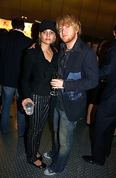 RORY KINDERSLEY and ALISON JENKINS at a party to celebrate the launch of Pilsner Urquell beer held in the Pavillion at The Serpentine Gallery, London on 4th October 2006.<br /><br />NON EXCLUSIVE - WORLD RIGHTS