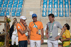 Ehrens Rob, Dubbeldam Jeroen, Smolders Harrie,  NED<br /> Olympic Games Rio 2016<br /> © Hippo Foto - Dirk Caremans<br /> 19/08/16