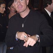 Uitreiking populariteitsprijs 2002, DJ Jean, Jan Engelaar