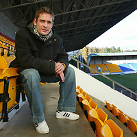 St Johnstone's Paul Bernard at McDiarmid Park, Perth.<br /><br />Picture by Graeme Hart.<br />Copyright Perthshire Picture Agency<br />Tel: 01738 623350  Mobile: 07990 594431