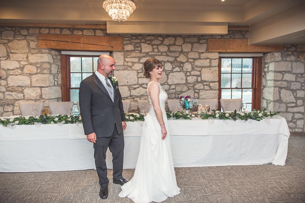 Sherri & Paul's Beautiful Rainy Cambridge Mill Wedding