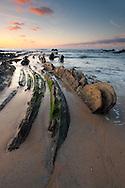 Beach of Barrika, Bizkaia, Spain