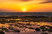 Sunset at Batu Bolong Beach, Canggu, Bali, Indonesia