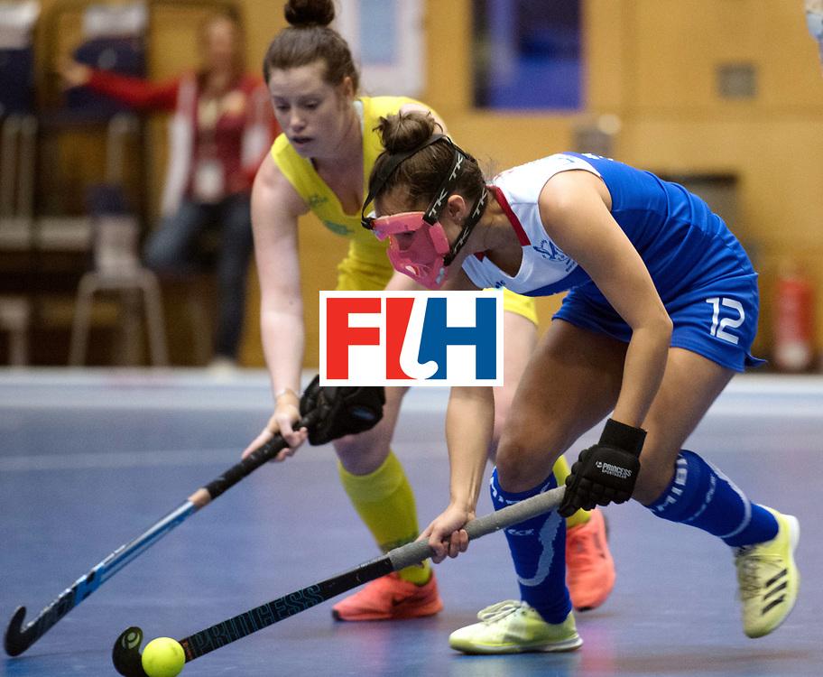 BERLIN - Indoor Hockey World Cup<br /> Australia - Namibia<br /> foto: HERMANUS Gillian<br /> WORLDSPORTPICS COPYRIGHT FRANK UIJLENBROEK