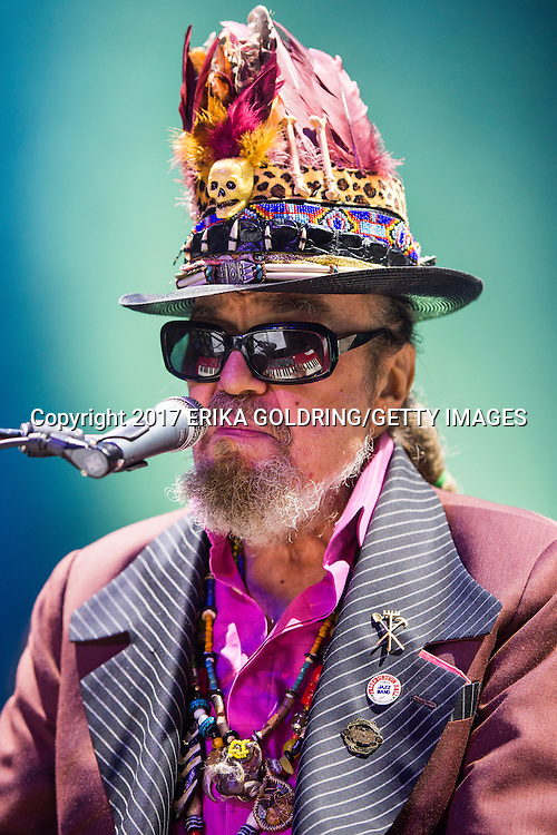 NEW ORLEANS, LA - JANUARY 07:  Mac Renbennack aka Dr. John performs at the 2nd Annual Bal Masqué at The Orpheum Theatre on January 7, 2017 in New Orleans, Louisiana.  (Photo by Erika Goldring/Getty Images) *** Local Caption *** Mac Rebennack; Dr John