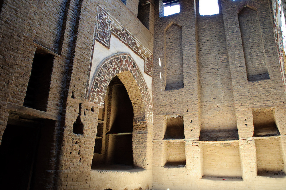 The medieval madrassa in the old town of Al-Qasr, Dakhla Oasis