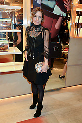 DAISY BATES at the Roger Vivier 'The Perfect Pair' Frieze cocktail party celebrating Ambra Medda & 'Miss Viv' at the Roger Vivier Boutique, Sloane Street, London on 15th October 2014.