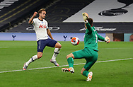 Harry Kane of Tottenham misses a chance to score during the Premier League match at the Tottenham Hotspur Stadium, London. Picture date: 23rd June 2020. Picture credit should read: David Klein/Sportimage