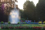 Schlosspark Pillnitz, Dresden, Sachsen, Deutschland.|.Pillnitz Castle Gardens, Dresden, Germany