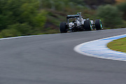 Circuito de Jerez, Spain : Formula One Pre-season Testing 2014. \f1