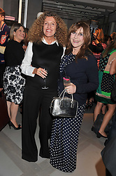 Left to right, NICOLE FARHI and DR MIRIAM STOPPARD at a party to celebrate the opening of the new Nicole Farhi global flagship store at 25 Conduit Street, London W1 on 19th September 2011.