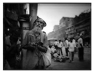 Wiseman on Calcutta street.