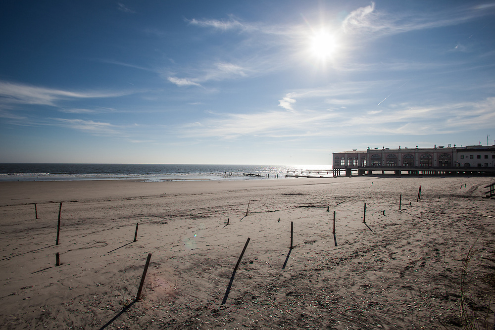 Hurricane Sandy aftermath 2 weeks later in Ocean City, NJ on Monday November 12, 2012.  (Photo / Mat Boyle)