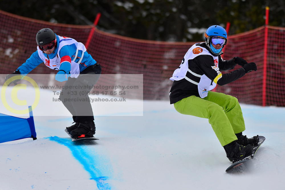 World Cup SBX, PATMORE Simon, AUS at the 2016 IPC Snowboard Europa Cup Finals and World Cup