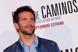 Bradley Cooper nominated for Best supporting actor for the Oscars 2014.Bradley Cooper. <br /> Actor Bradley Cooper during the presentation for his latest film The Place Beyond, The Pines at Hotel Santo Mauro in Madrid, Spain,Wednesday, 4th September 2013. Picture by  Ivan L. Naughty / DyD Fotografos / i-Images<br /> <br /> SPAIN OUT