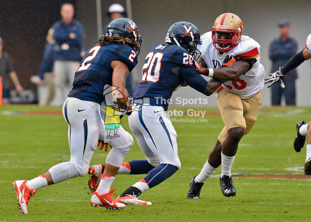 NCAA FBS: Virginia Cavaliers roll past VMI, 49-0