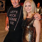 NLD/Utrecht/20110126 - Perspresentatie Sterren Dansen op het IJs 2011, Gerard Joling en Nance Coolen