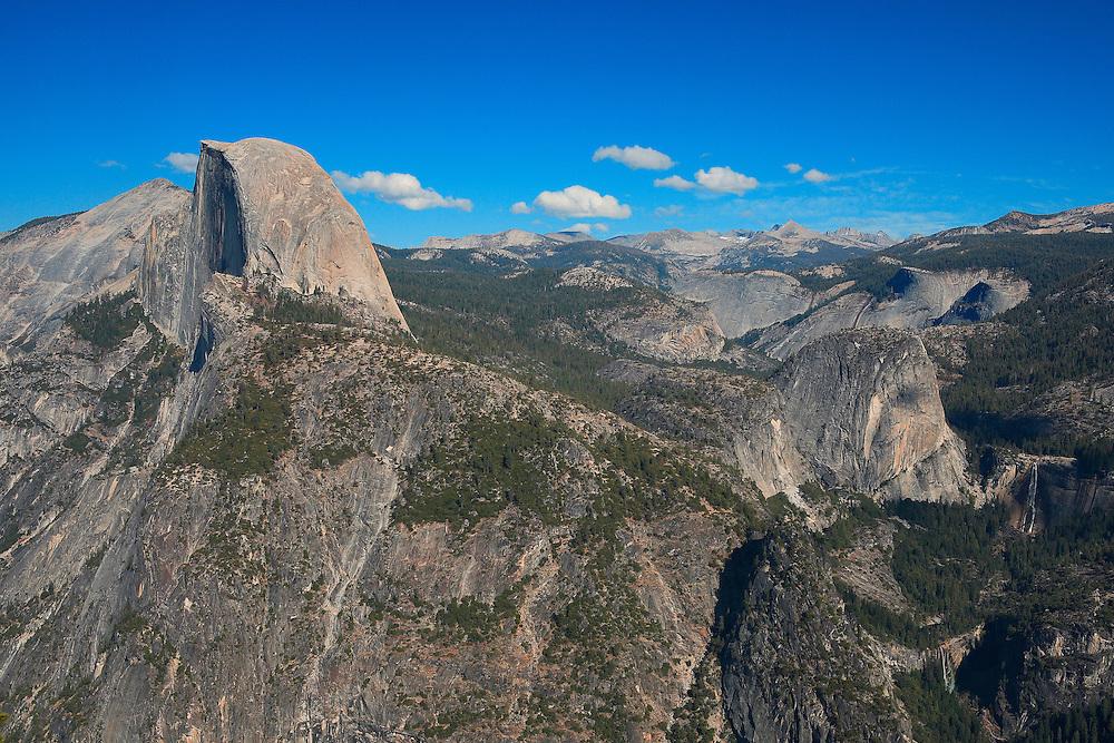Half Dome - Liberty Cap - Nevada Falls - Vernal Falls - Glacier Point View - Yosemite