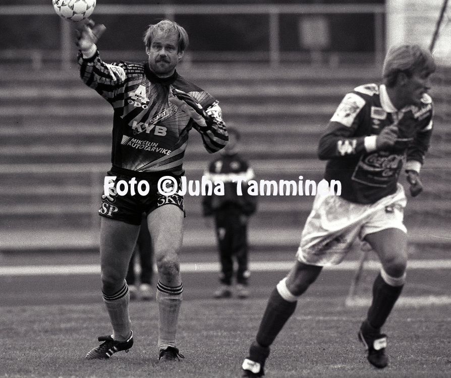 19.07.1992 .Stefan Lindstr?m - Mikkelin Palloilijat.©JUHA TAMMINEN