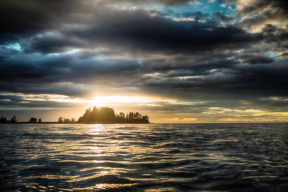 Sunset near Seldovia, AK