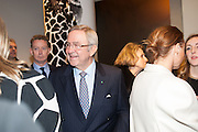 KING CONSTANTINE OF GREECE, Valentino: Master of Couture - private view. Somerset House, London. 28 November 2012