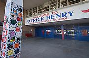 Patrick Henry Middle School, July 8, 2014.