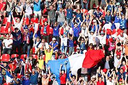 09.07.2011, FIFA Frauen-WM-Stadion Leverkusen, Leverkusen, GER, FIFA Women Worldcup 2011, Viertelfinale, England (ENG) vs. Frankreicht (FRA), im Bild:  Laola im Wm Stadion.. // during the FIFA Women´s Worldcup 2011, Quaterfinal, England vs France on 2011/07/09, FIFA Frauen-WM-Stadion Leverkusen, Leverkusen, Germany.   EXPA Pictures © 2011, PhotoCredit: EXPA/ nph/  Mueller *** Local Caption ***       ****** out of GER / CRO  / BEL ******