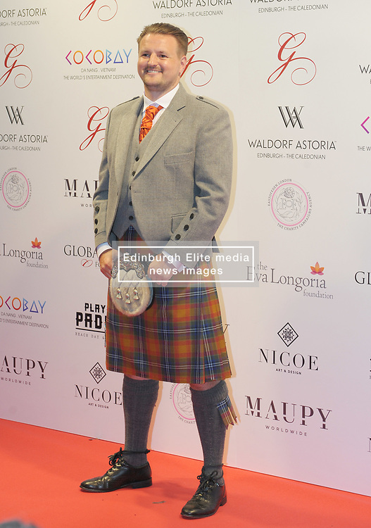 The Global Gift Gala Red Carpet, Wednesday 17th May 2017<br /> <br /> Scott Kyle arrives on the red carpet<br /> <br /> The Global Gift Gala is a unique international initiative from the Global Gift Foundation, a charity founded by Maria Bravo that is dedicated to philanthropic events worldwide; to help raise funds and make a difference towards children and women across the globe.<br /> <br /> Charities benefiting from the 2017 Edinburgh Global Gift Gala include the  Eva Longoria Foundation, which aims to improve education and provide entrepreneurial opportunities for young women;  Place2Be which provides emotional and therapeutic services in primary and secondary schools, building children's resilience through talking, creative work and play; and the Global Gift Foundation with the opening of their first 'CASA GLOBAL GIFT', providing medical treatments and therapy for children affected by rare disease.<br /> <br /> (c) Aimee Todd | Edinburgh Elite media