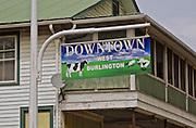 Northcentral Pennsylvania, Rural unrestored town, West Burlington, PA
