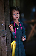 A Lanten girl in Luang Namtha, Laos.