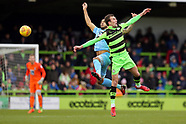 Forest Green Rovers v Coventry City