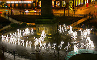 An invasion of stop-motion stick-figures will create a spectacle of light when a major installation makes its first appearance in PRESS RELEASE<br /> STRICTLY EMBARGOED UNTIL<br /> 00.01AM TUESDAY 16 FEBRUARY 2016<br />  <br /> PETE IRVINE TO STEP DOWN AS DIRECTOR OF EDINBURGH&rsquo;S HOGMANAY<br />  <br /> Scotland's leading event producers Unique Events today announced that Pete Irvine is to step down as Director of Edinburgh's Hogmanay after more than two decades at the helm.<br /> <br /> Pete has been instrumental in creating Scotland's flagship winter festival and positioning it on the world stage. He has also been the director and designer of a host of other events and festivals since forming Unique Events in 1992 and was the founding director of Regular Music, Scotland's first concert and music festival promoters.<br /> <br /> In a personal statement, Pete said: &quot;Almost 25 years ago it was my great privilege to be given the opportunity to create a new event (or festival as I subsequently proposed), to encompass the then ad hoc Hogmanay gathering and to celebrate the midnight moment in a way more fitting for Scotland's capital city. As I saw it, it was also an opportunity to light up the dark and curiously empty days around New Year and to show a new side and edge to a city whose cultural credentials were most closely associated with its August festivals.<br /> <br /> Attracting audiences from the start in spirited tens of thousands, it was exhilarating to be part of that rare moment when the perception of a city changes as well as its perception of itself. We added the apostrophe to Edinburgh and proclaimed ourselves to be the authentic home of New Year celebrations: our magical city was the theatre, its citizens and visitors together were uniquely, the show.<br /> <br /> Edinburgh's Hogmanay 2015/16 was once again in the hands of a longstanding and extraordinarily committed team and despite more than the usual challenges, was one of the smoothest runnin