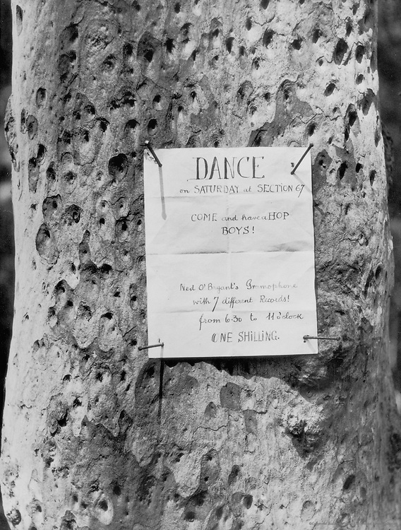 Dance Sign, New South Wales, Australia, 1930