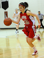 The Wellington High girls varsity basketball team lost to visiting Lutheran West on January 13, 2011 at Wellington High School.