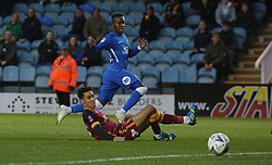 Siriki Dembele of Peterborough United scores his sides second goal of the game - Mandatory by-line: Joe Dent/JMP - 01/12/2018 - FOOTBALL - ABAX Stadium - Peterborough, England - Peterborough United v Bradford City - Emirates FA Cup second round proper
