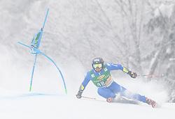 Simon Maurberger of Italy during 1st run of Men's Giant Slalom race of FIS Alpine Ski World Cup 57th Vitranc Cup 2018, on 3.3.2018 in Podkoren, Kranjska gora, Slovenia. Photo by Urban Meglič / Sportida