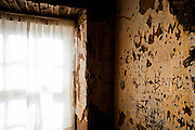 Over a century's worth of graffiti is carved into the worn yellow walls of the Fountain House at Ft. Chadbourne. Soldiers, postal employees, and ranch hands have all left their mark for future generations. Restoration experts are using infrared technology to reveal more names in the walls which were plastered several times since its construction in 1852.