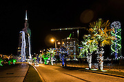 Batumi landscape. Batumi is a turistic location on the Black sea. Favorited by russian people, Batumi  have many attarctions and buildings with a particular style.