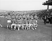 07/09/1969<br /> 09/07/1969<br /> 7 September 1969<br /> All-Ireland Minor Final: Kilkenny v Cork at Croke Park, Dublin. <br /> The Cork minor hurling team who won the match.