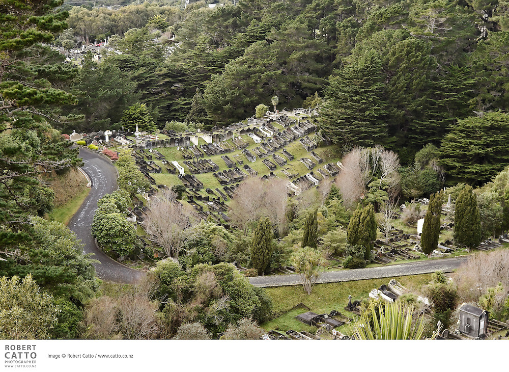 Karori Cemetery was established in 1891 to replace the overcrowded Bolton Street Cemetery. The Cemetery filled quickly and by the 1950s had nearly reached maximum capacity. Makara Cemetery became Wellington's principal cemetery in 1965. The only plots available now at Karori Cemetery are pre-purchased ash or family plots, and children's plots.<br /> <br /> Karori Cemetery's crematorium was New Zealand's first crematorium and is the oldest in Australasia, opening in 1909. It carries out about 450 cremations a year.
