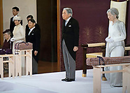 Emperor Akihito Of Japan Abdicates