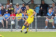 AFC Wimbledon defender Paul Robinson (6) during the Pre-Season Friendly match between Margate and AFC Wimbledon at Hartsdown Park, Margate, United Kingdom on 16 July 2016. Photo by Stuart Butcher.