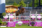 Rodrigo Pessoa - Ferro Chin van Lindenhof<br /> World Equestrian Festival, CHIO Aachen 2015<br /> © DigiShots