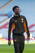 Ola Aina of Hull City arrives at Villa Park, Birmingham, ahead of the Sky Bet Championship match between Aston Villa and Hull City<br /> Picture by Matt Wilkinson/Focus Images Ltd 07814 960751<br /> 05/08/2017