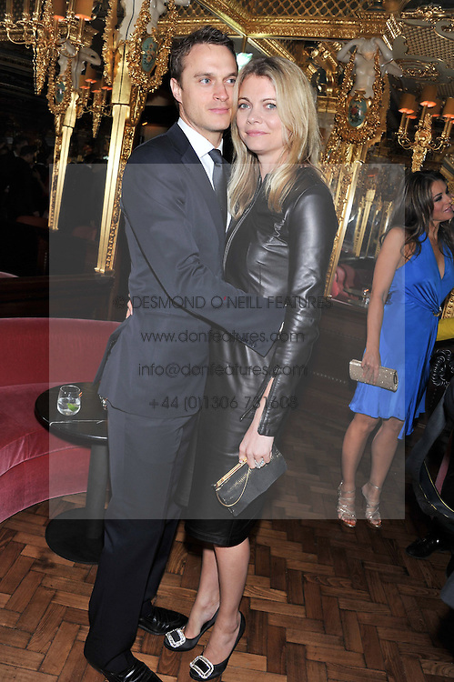 The EARL & COUNTESS OF MORNINGTON at the 50th birthday party for Patrick Cox held at the Café Royal Hotel, 68 Regent Street, London on 15th March 2013.