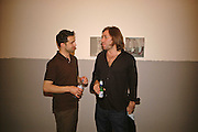 Victor  Man and Mat Collishaw, Private view of work by  Victor Man, ' The place I'm coming from'  Timothy Taylor Gallery. London. 4 May 2006. ONE TIME USE ONLY - DO NOT ARCHIVE  © Copyright Photograph by Dafydd Jones 66 Stockwell Park Rd. London SW9 0DA Tel 020 7733 0108 www.dafjones.com