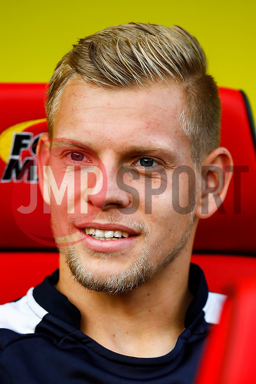 Matej Vydra of Watford - Mandatory by-line: Jason Brown/JMP - Mobile 07966 386802 31/07/2015 - SPORT - FOOTBALL - Watford, Vicarage Road - Watford v Sevilla - Pre-Season Friendly